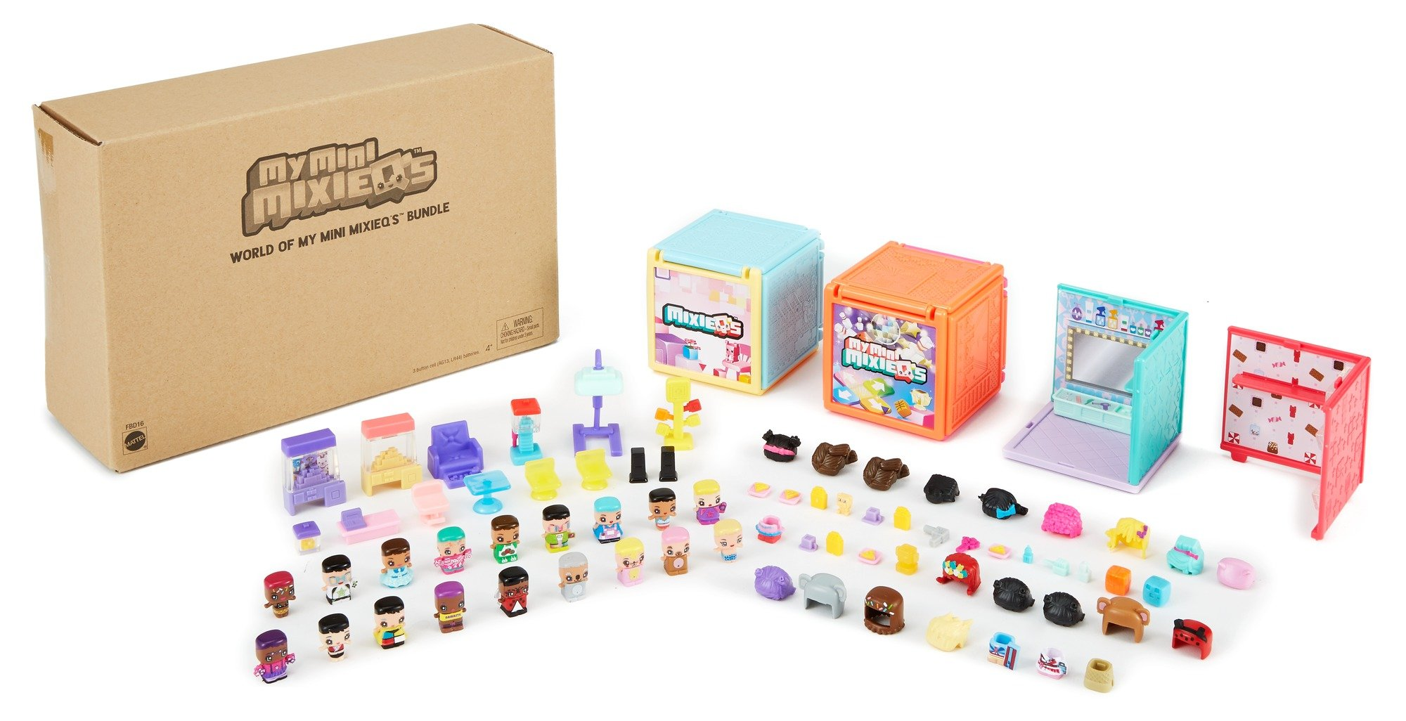 My Mini MixieQ's Bundle - Mini Rooms, Playsets, and Figures by My Mini MixieQ's (Image #5)