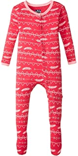 Kickee Pants Baby Boys Print Footie Prd-kpf173-cbbv