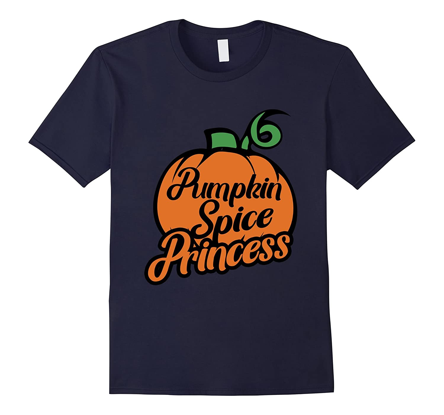 Pumpkin Spice Princess shirt cute Happy Halloween Party tee-RT
