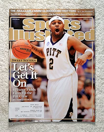 huge selection of 5817f 5b459 Levance Fields - Pittsburgh Panthers - 2009 NCAA Tournament ...