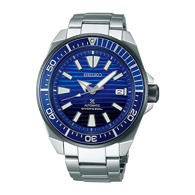 4. Seiko Prospex Samurai Save The Ocean Diving Watch (SRPC93)