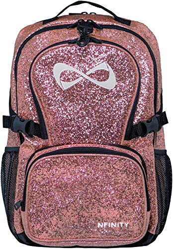 Nfinity Millennial Pink Backpack White Logo