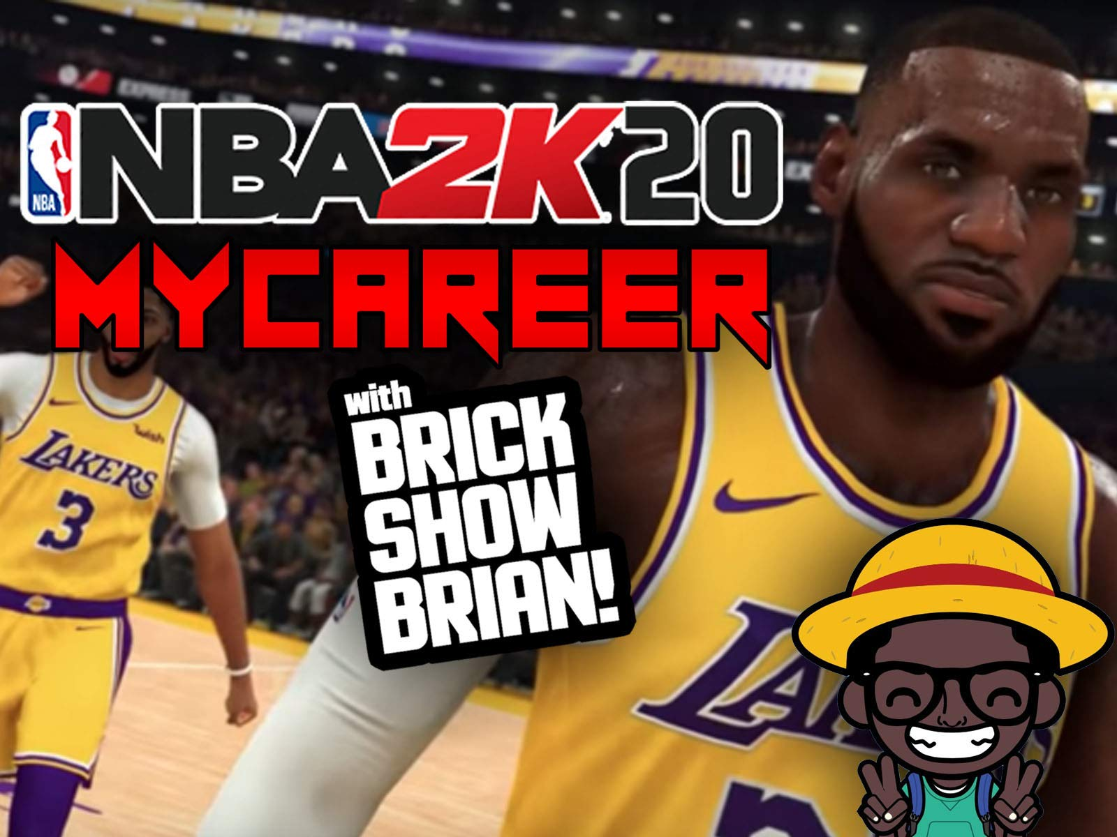 Watch Nba 2k20 My Career With Brick Show Brian Prime Video