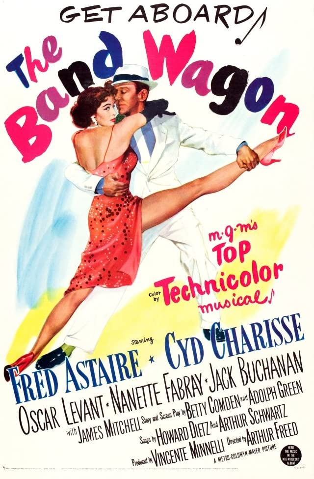 Amazon.com: Posterazzi The Band Wagon Us Cyd Charisse Fred Astaire 1953  Movie Masterprint Poster Print, (24 x 36): Posters & Prints