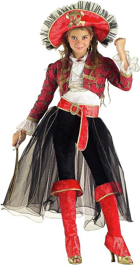 chiber Disfraces Disfraz de Chica Corsaria (Talla 6): Amazon.es ...
