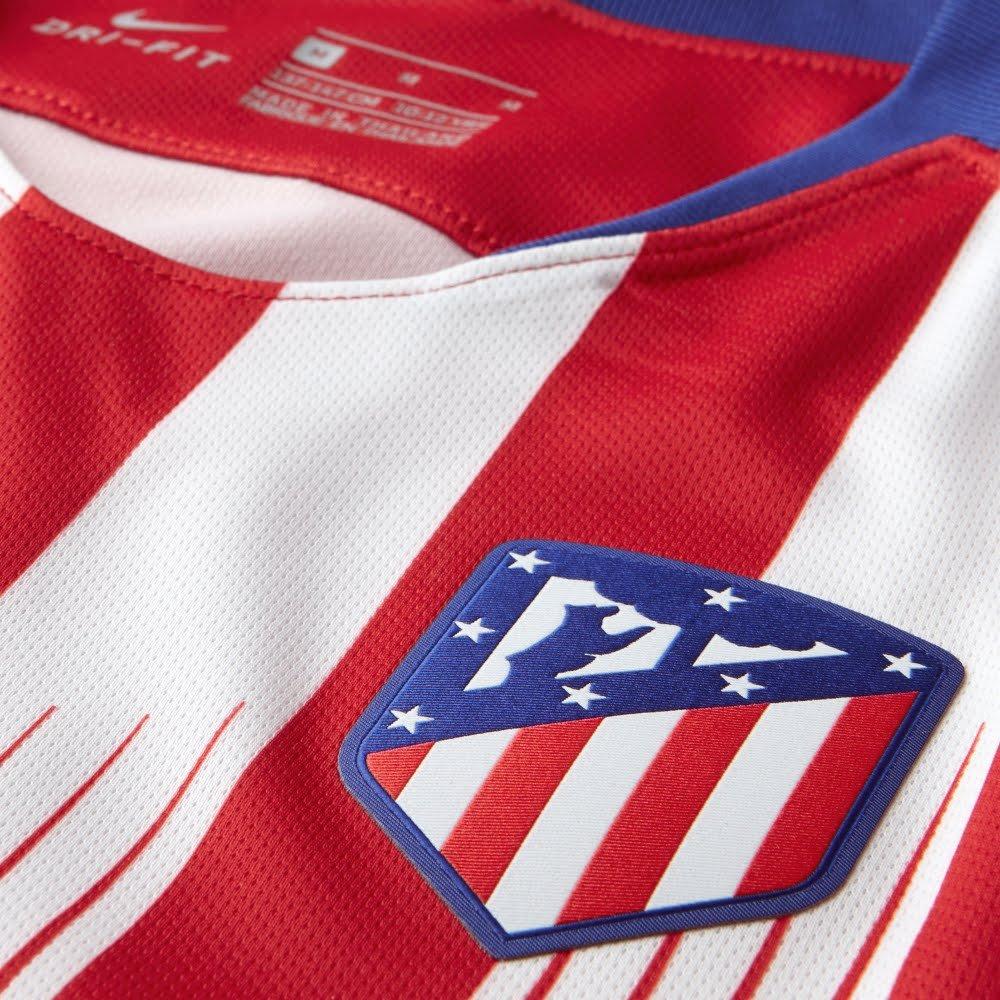 Amazon.com : NIKE 2018-2019 Atletico Madrid Home Shirt (Kids) : Sports & Outdoors