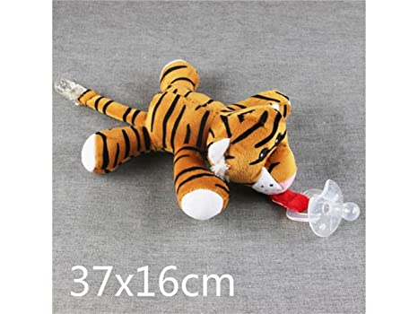 SOPOUITRO - Chupete de juguete de tigre duradero para niños ...