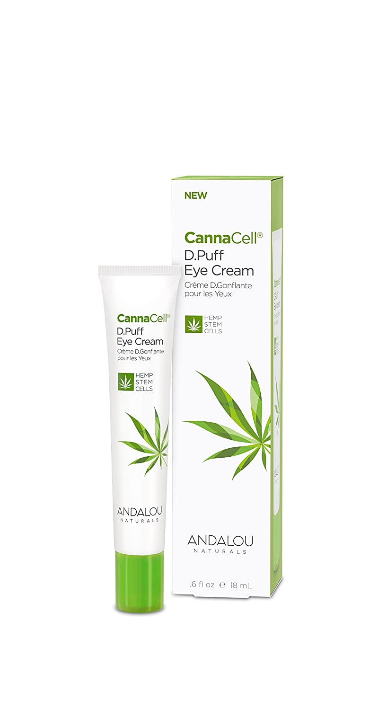 Andalou Naturals Cannacell D.puff Eye Cream, 0.6 Ounce