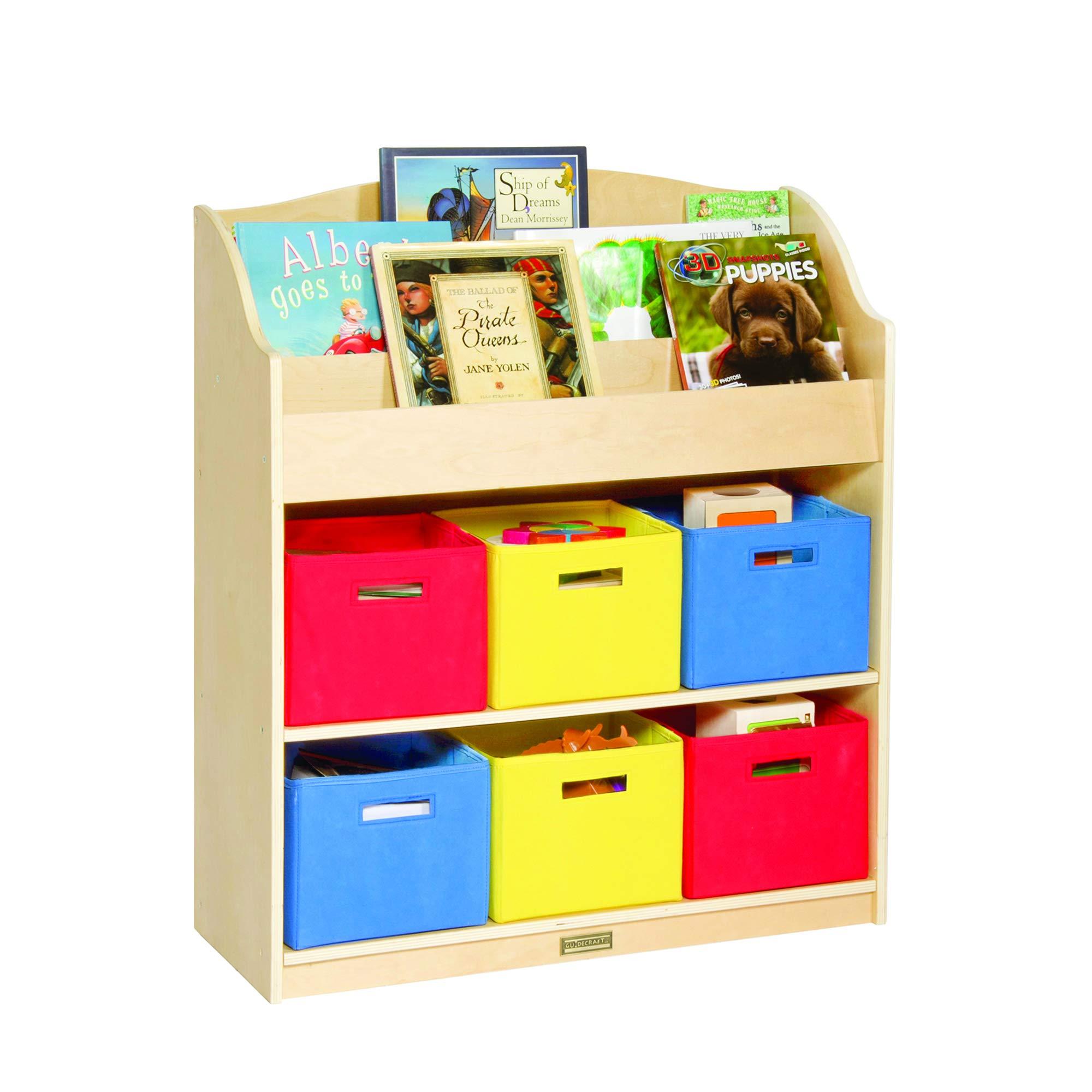 Guidecraft Book & Bin Storage Set by Guidecraft