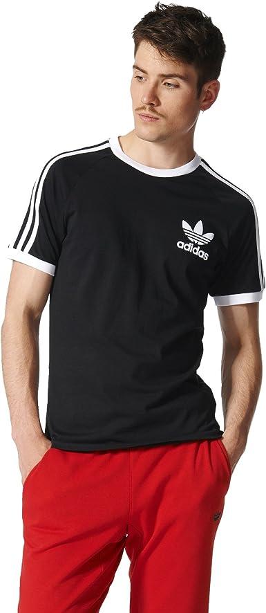 2020 lo último Mitad de precio Camiseta con tres rayas California de adidas Originals Ropa