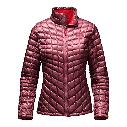 61192a9dff The North Face Women s Thermoball Full Zip Jacket Deep Garnet Red Size  Medium