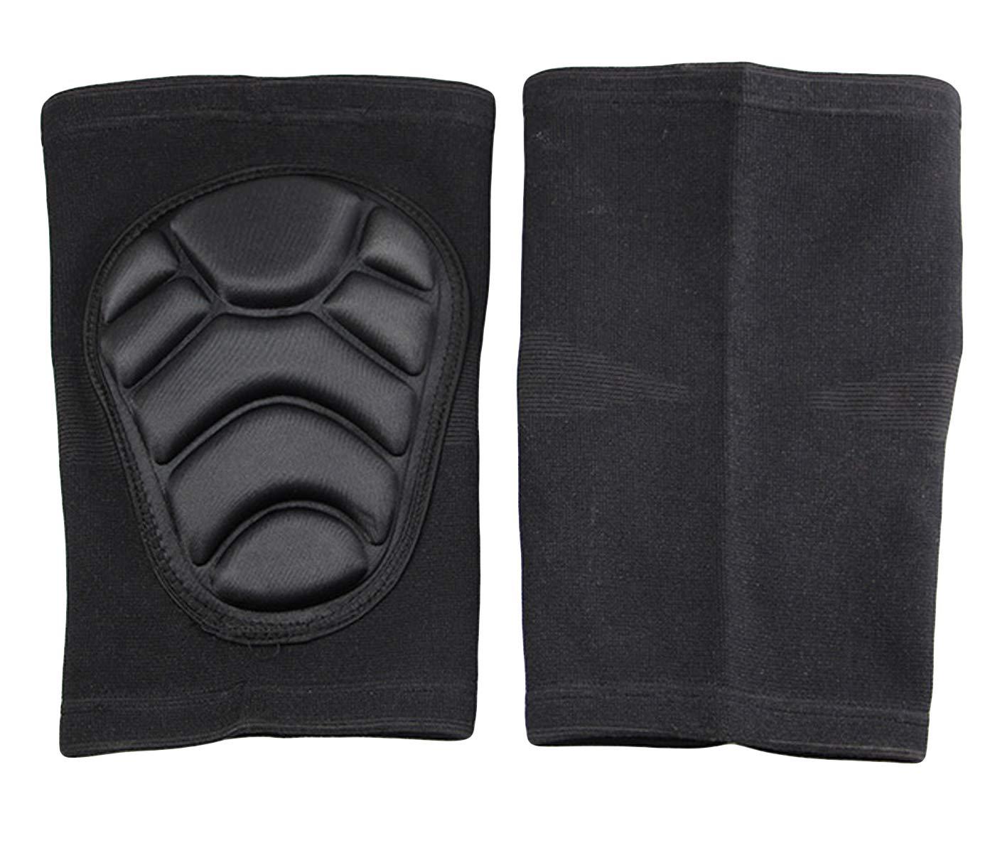 NIGOLS Genouill/ères de Protection /épaisses en /éponge Anti-Collision pour l/'ext/érieur enveloppe Simple l/'Escalade et Le Sport