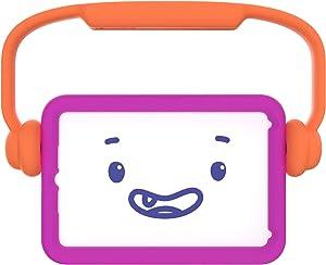 Speck Products Case-E Run iPad Mini 2021/iPad Mini 4/iPad Mini 5 Case for Kids, It's a Vibe Violet/Flux Orange