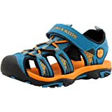DADAWEN Boy's Girl's Summer Beach Outdoor Closed-Toe Sport Sandals (Toddler/Little Kid/Big Kid)