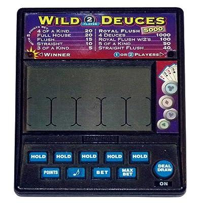Radica Wild Deuces 2 Player Royal Flush 5000 Model 915: Toys & Games
