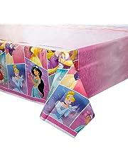 """Disney Princess Plastic Tablecloth, 84"""" x 54"""""""