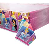 "Plastic Disney Princess Table Cover 54"" x 84"", 1 Ct."