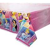 "Plastic Disney Princess Table Cover 54"" x 84"", 1 Ct."