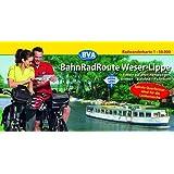 BahnRadRoute Weser-Lippe, Spiralo Querformat, Radwanderkarte 1:50.000