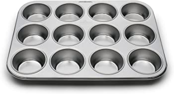 Fox Run 12-Cup Stainless Steel Muffin Pans