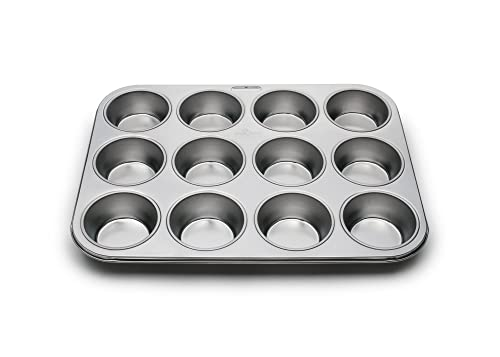 Fox Run 4868 Muffin Pan Stainless Steel