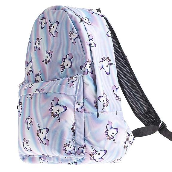 Amazon.com: Backpack Travel schoolbags for teenage girls mochila feminina Girls 3Pcs Bagpack Set mochila de unicornio Softback,Set 10: Shoes