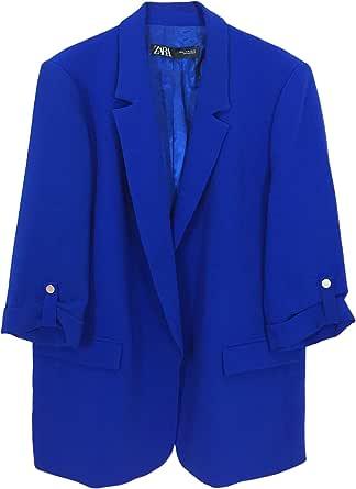 Zara 7841/583/420 - Blazer para Mujer con Mangas giratorias ...