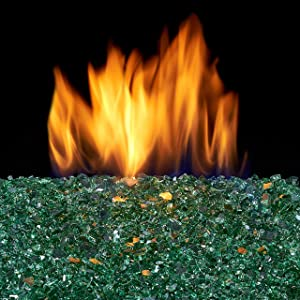 Duluth Forge FGB14-1 Vented Natural Gas Fire Glass Burner Kit-45,000 BTU, 14 Inch, Black