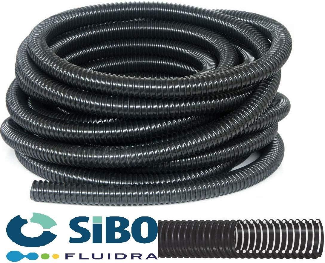 Stagno Tubo Flessibile//spiralschlauch 40mm 30m Nero