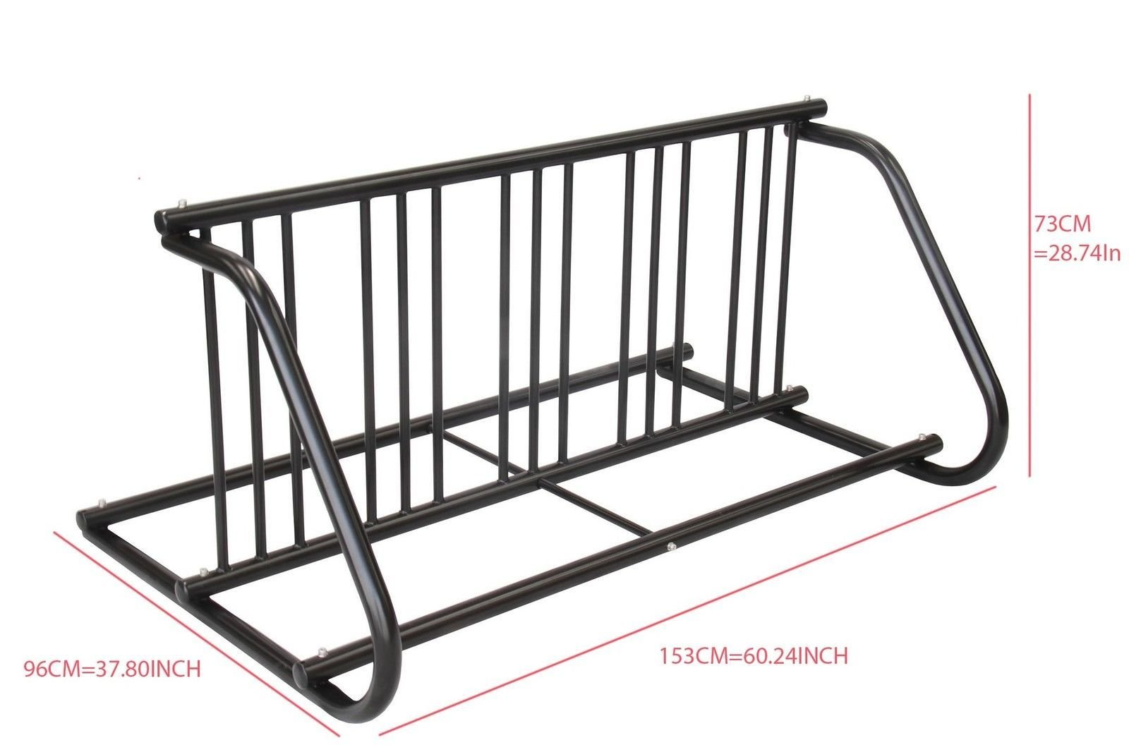 5-10 Bike Racks Bicycle Parking Stand Indoor Outdoor powder coating by CyclingDeal (Image #2)
