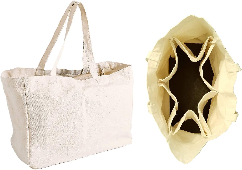 Bonafaire - Bolsa de la compra reutilizable de algodón orgánico ...