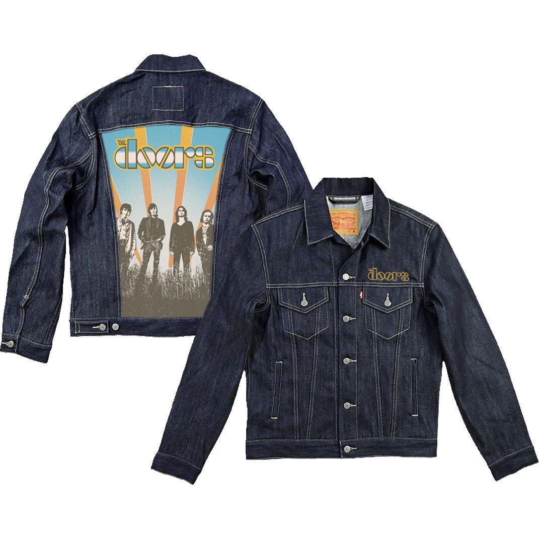 Doors Men's Sunrise Denim Jacket Denim Jacket XX-Large Denim by Unknown