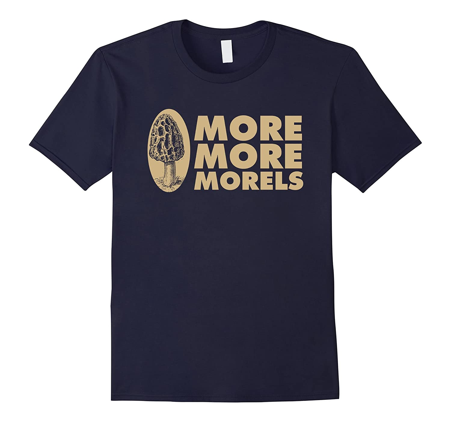 More More Morels Mycology Hunter Chicken of the Woods TShirT-TH