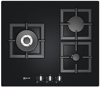 acheter en ligne b1067 ac50b Neff T62S15S1 plaque - plaques (Intégré, Gaz, Verre, Noir ...