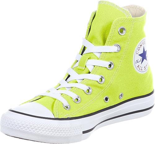 zapatillas tipo converse mujer verde