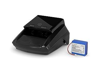 Detectalia - Pack detector de billetes falsos + Batería de litio universal para detectores de billetes: Amazon.es: Oficina y papelería