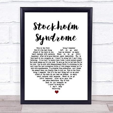 Amazon.com: Síndrome de Estocolmo, canción de corazón, letra ...