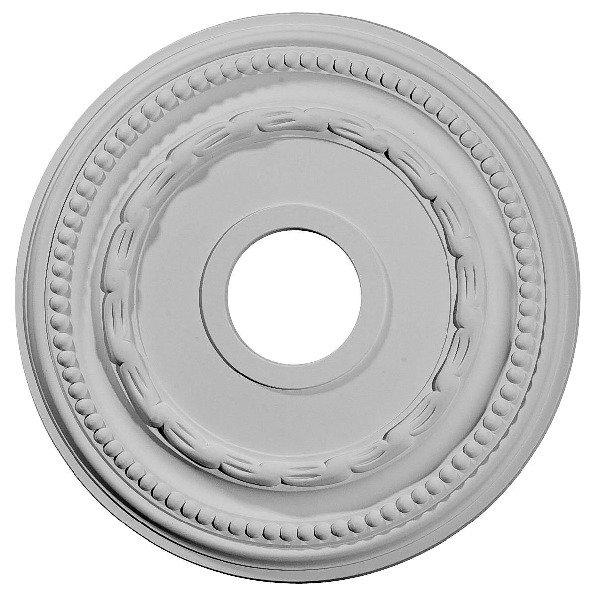 Ekena Millwork CM15FE 15 3/8-Inch OD x 3 5/8-Inch ID x 1-Inch Federal Ceiling Medallion