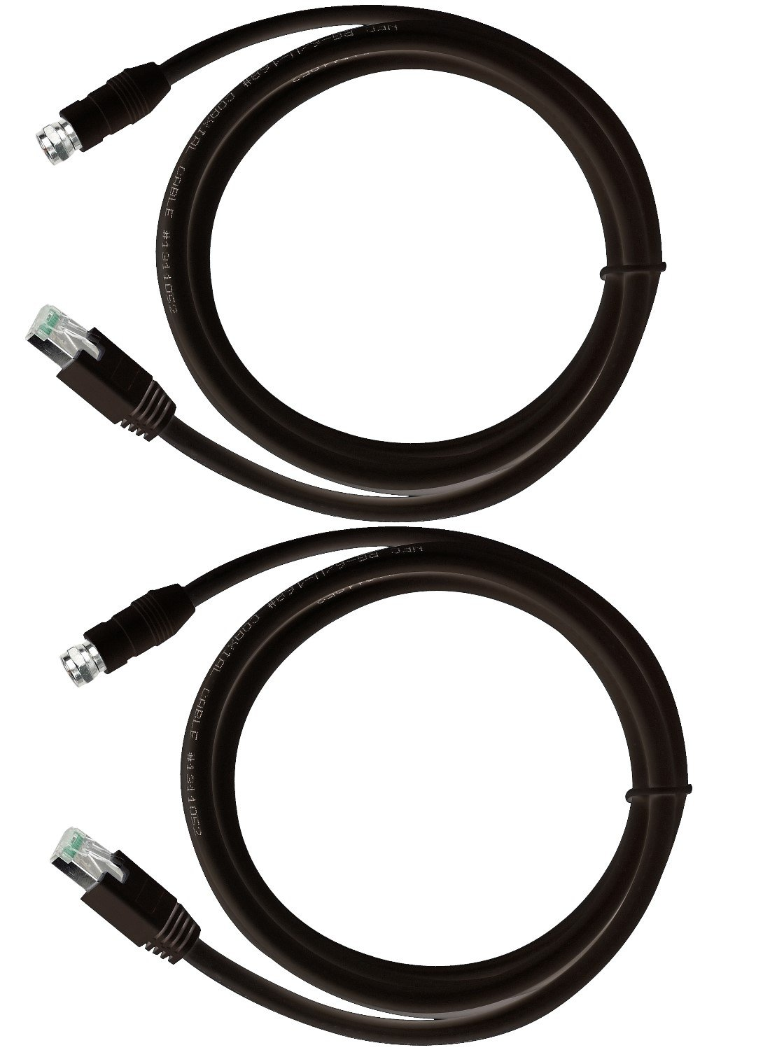 Amazon.com: RG-6 Coax Cable over UTP Cat5e/6 Extender Balun ...