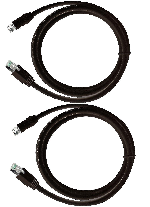 RG-6 Coax Cable over UTP Cat5e/6 Extender Balun Converter Adapter, sender & receiver