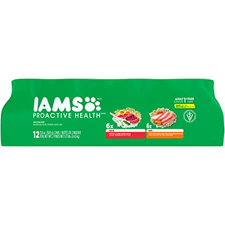 Iams Proactive Health Wet Dog Food Variety Chicken Lamb