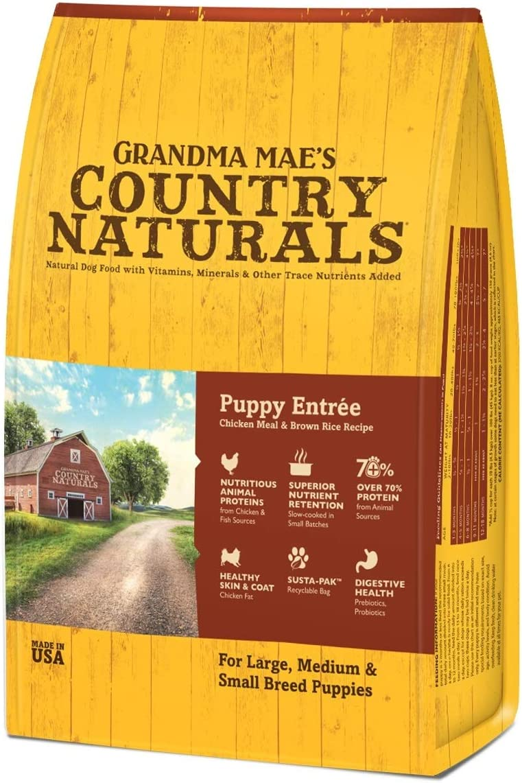 GMC Grandma Mae s Country Naturals Food for Puppies 4 lb