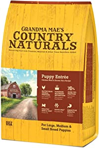 GMC Grandma Mae's Country Naturals Food for Puppies 4 lb