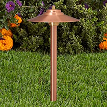 Vista Pro Path And Spread Landscape Lighting PR 2130 Natural Copper
