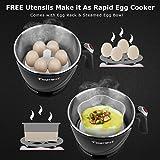 TOPWIT Electric Kettle, Mini Hot Pot, Rapid Noodles