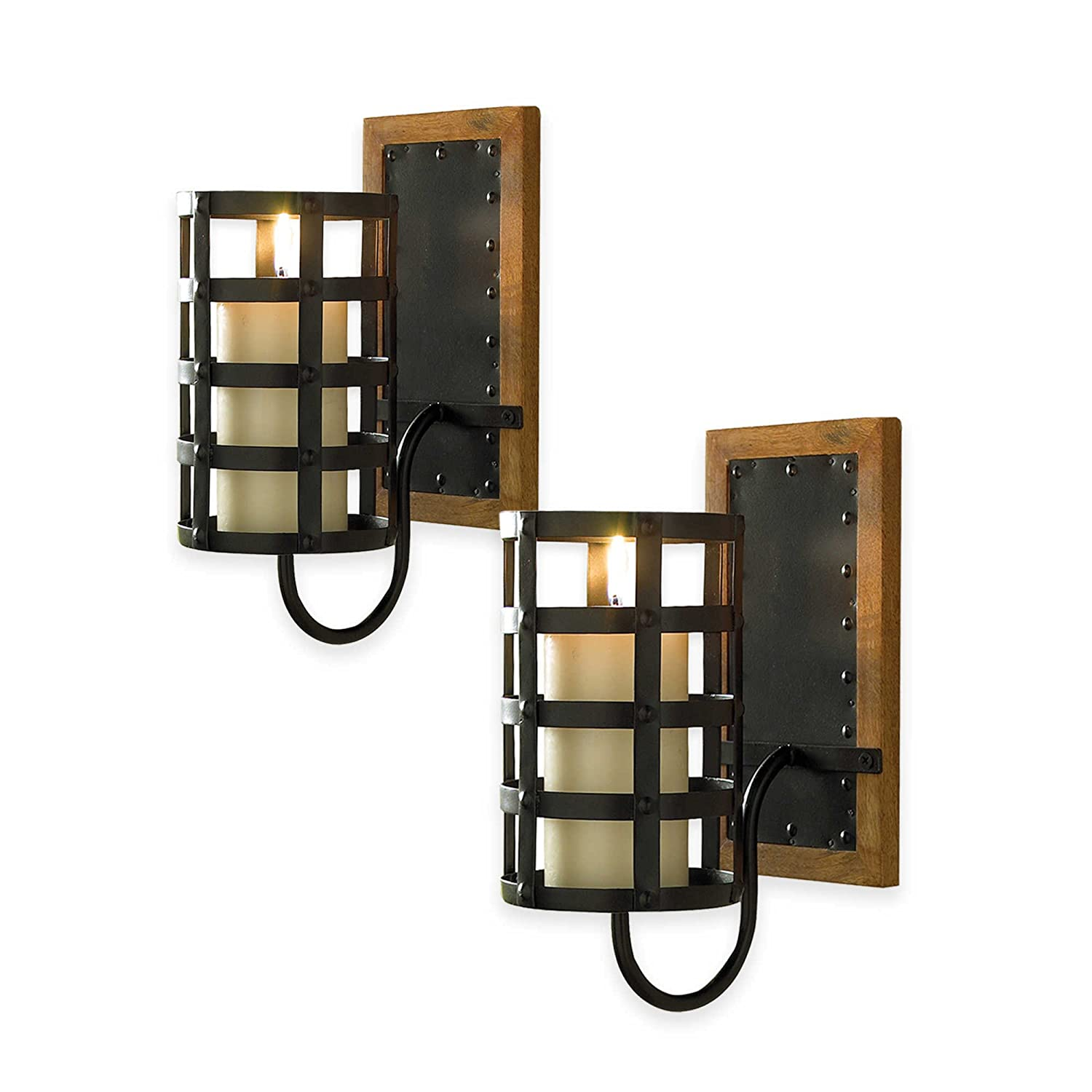 Amazon Croscill Cage Candle Sconces Home Kitchen