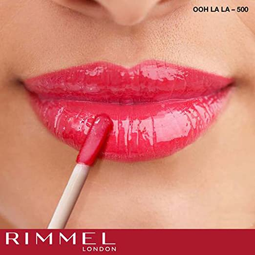 bc8afde6a Rimmel London, Oh My Gloss! - Go Gloss Or Go Home, A Sparkly Light Pink  Lipgloss: Amazon.ae