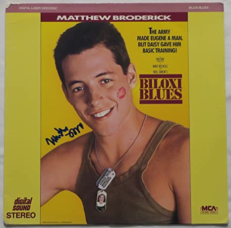 Matthew Broderick Signed Biloxi Blues Authentic Autographed Album