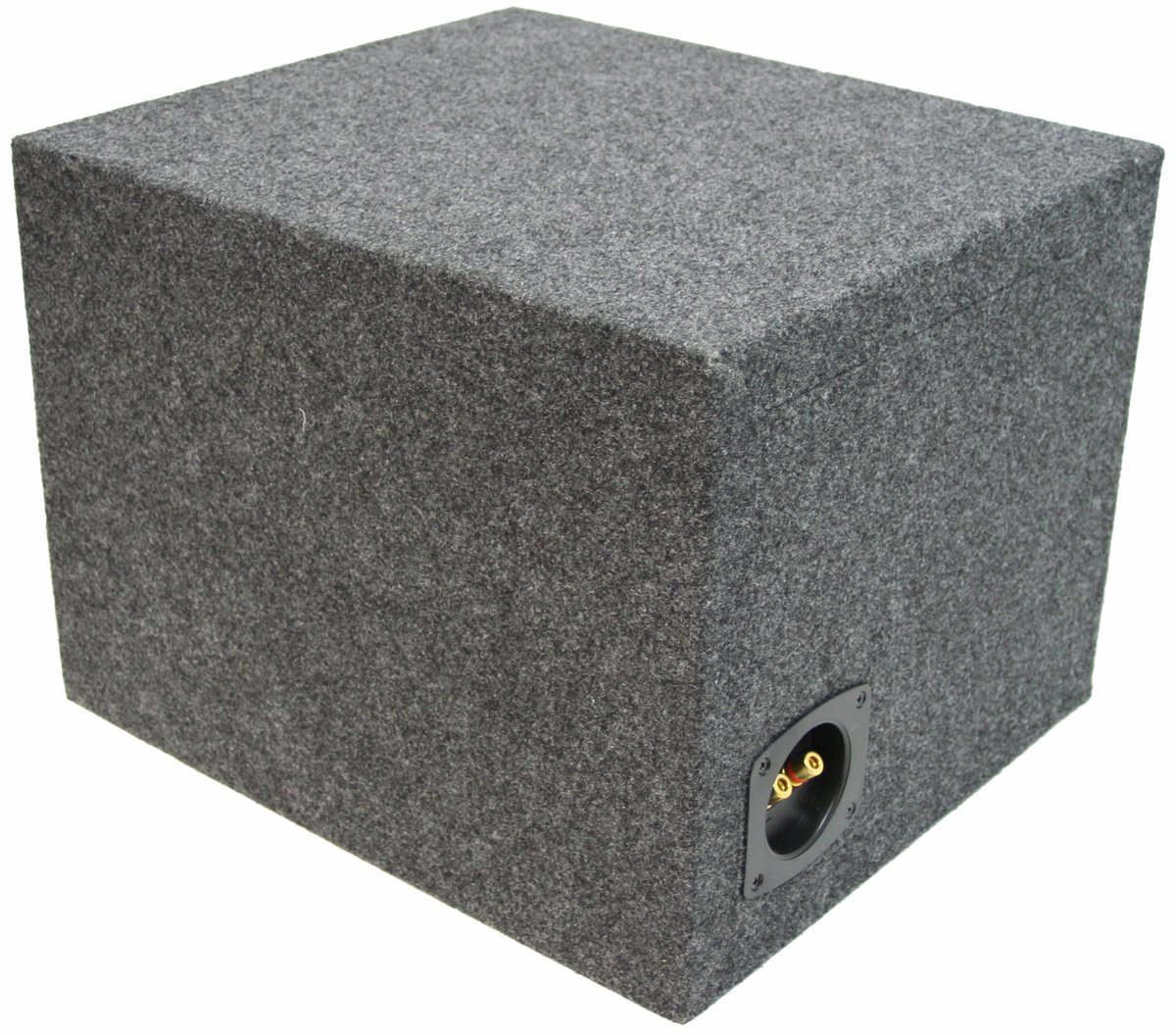 ASC Single 12'' Subwoofer Universal Fit Vented Port Sub Box Speaker Enclosure by American Sound Connection (Image #2)