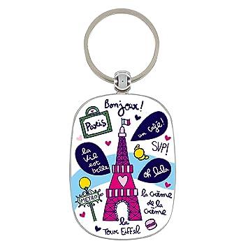 354bfc2b8545 Derrière La Porte DLP   Porte-Clés Original - Paris Alma - Tour Eiffel en